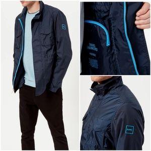 MICHAEL KORS Men Packable Field Jacket Navy XL,XXL